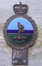 Original Vintage Car Mascot Badge British Army Signal Regiment  probably Gaunt