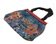 SAC CHAT BANDOULIERE HIPPIE BABA COOL GIBECIERE-BESACE -FOURRE TOUT-8591-SAC8G