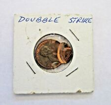 * 1980 DOUBLE STRIKE US PENNY: STRUCK AT 4-6 O'CLOCK