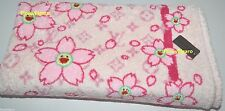 AUTHENTIC LOUIS VUITTON CHERRY BLOSSOM TOWEL BEACH BATH PINK  LTD EDITION RARE