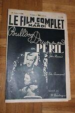 Le film complet du mardi - N°2240 - Bulldog Drummond en péril