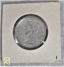 1959 French Somaliland, 2 Francs, Unc, Catalog KM#9