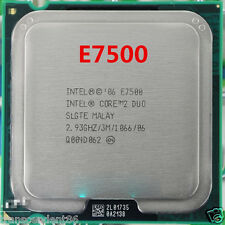 Intel Core 2 Duo E7500 SLGTE SLB9Z CPU 2.93 GHz LGA 775 Processor