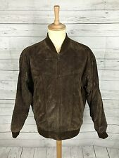 Mens Vintage C&A Bomber Jacket - Medium - Brown - Great Condition