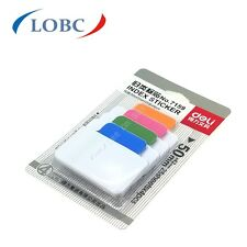 100 x Sticky Notes Adhesive Page Markers Paper Filing tabs Index Flags 50x42mm