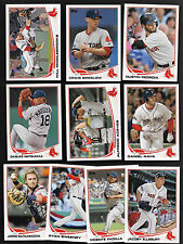 2013 Topps Series 1 & 2 & Updates BOSTON RED SOX Complete 38 Card Team Set