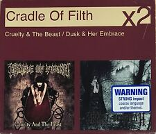 CRADLE OF FILTH 2CD BOX SET OZ Rare