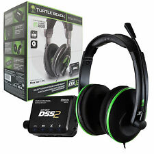 TURTLE BEACH EARFORCE DX12 SURROUND SOUND GAMING HEADSET FOR XBOX 360 & PC