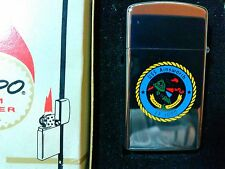 Vintage 1969 Zippo Lighter USS Ainsworth FF-1090 Never Used Original Box Vietnam