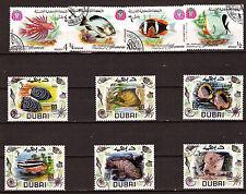DUBAI et YEMEN Poisson d'aquarium et de mer  , 28m194a