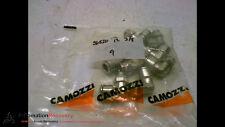 CAMOZZI S6520 12-3/8 FITTING 12-1/4 TORQUE THREAD N/M MIN.4-MAX 20, NEW #166595