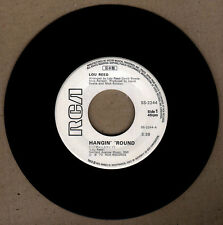 "JAPAN:LOU REED - Hangin' 'Around,Perfect Day  7"" 45 RPM,RARE,Nippon Logo,Bowie"