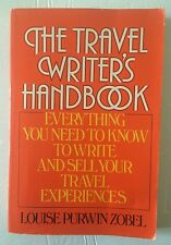 """THE TRAVEL WRITERS HANDBOOK """"NOS"""" NEW OLD STOCK FREE USPS TRACK SHIP CONFIRM"""