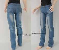 1/3 BJD Iplehouse EID model SID male doll size wash light blue jeans #M3-82MOD