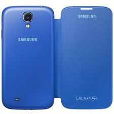 Samsung Galaxy S4 Abatible Estuche Genuino Original Retail Pack-Azul claro