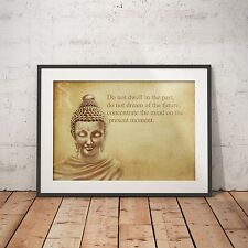Budda Buddha Inspirational Present Quote- A4 Glossy Poster - FREE Shipping