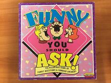 1993 Board Game - Funny you should ask!- 100% Complete