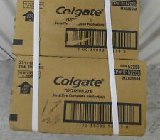 48 Tubes! Colgate Sensitive Complete Protection 1 oz  Travel size WHOLESALE Lot