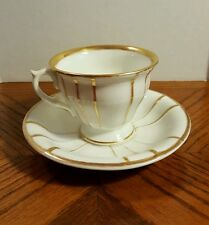 KPM Krister Porzellan-Manufaktur Old Paris Gold Hand Painted Cup Saucer 1840-95
