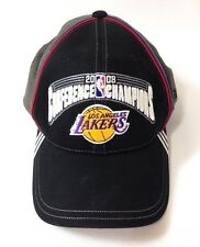 LA Lakers 2008 Conference Champions Finals Baseball Cap Hat One Size Adidas