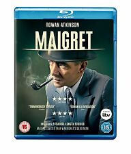 MAIGRET con Rowan Atkinson (Mr.Bean) BLURAY in Inglese NEW .cp