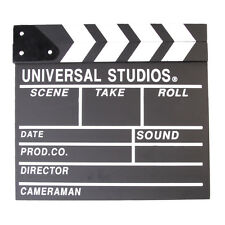 Professional Vintage TV Movie Film Clap Board Slate Cut Prop  Director Clapper