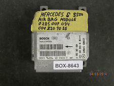 MERCEDES S500 AIR BAG MODULE #0 285 001 094/0 001 820 10 26