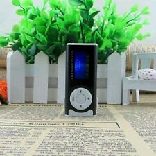 Portabl Black Shiny Mini USB Clip LCD Screen MP3 Media Player