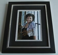 Shirley Bassey SIGNED 10X8 FRAMED Photo Autograph Display Music James Bond & COA