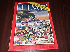 1960 NOVEMBER 21 TIME MAGAZINE  HONG KONG  FRONT COVER no label