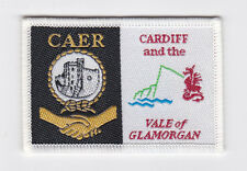 UK / BRITISH SCOUTS - WALES CARDIFF & THE VALE OF GLAMORGAN CAERH SCOUT PATCH