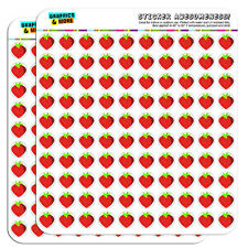 "Strawberry 0.5"" Scrapbooking Crafting Stickers"