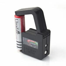 BATTERY CELL POWER VOLT TESTER CHECKER FOR AA / AAA / C / D / 9V / BUTTON CELL