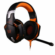 NEW EACH G2000 Gamer PC Gaming Headsets & Microphone Mic Razer MSN Skype WOW LOL