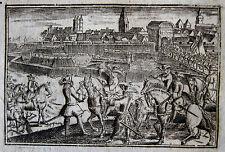 EROBERUNG SIÈGE ET PRISE DE NAMUR 1695 BELGIEN BELGIQUE MARÉCHAL DE BOUFFLERS