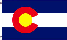 Colorado State 5'x3' Flag America American US USA
