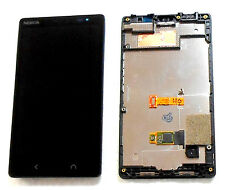 NOKIA X2 LCD COMPLETE LCD TOUCH DIGITIZER DISPLAY & FRAME BLACK