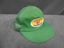 *Vtg Luhr Jensen Quality Fishing Lures Advertising Adjustable Baseball Cap Hat