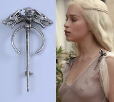 Game Of Thrones Song of Ice Fire Daenerys Targaryen Dragon Brooch Costume