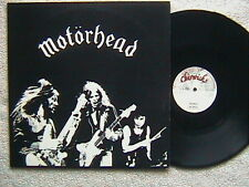 "MOTORHEAD ""MOTORHEAD"" / ""CITY KIDS"" LP 12"" ORIGINAL CHISWICK LABEL 1977"