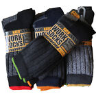 12 Pairs Mens Ultimate Kat0e Work Socks Boot Safety Sock Size 6-11 Cushion Sole