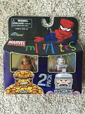 Marvel Minimates Series 37 Doombot Thing 2 Pack CHEAP Intl Ship