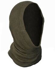 Genuine Ex-Army Snood Tube Scarf Headover Balaclava Neck Warmer Olive Brown New