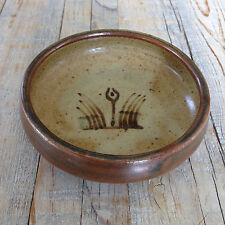 BERNARD LEACH DISH personal BL and impressed St Ives seal PERFECT CONDITION