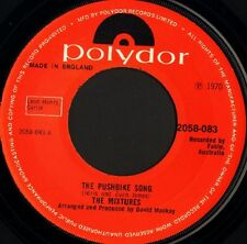 """THE MIXTURES the pushbike song/who loves ya 2058 083 uk polydor 1970 7"""" VG/ noc"""