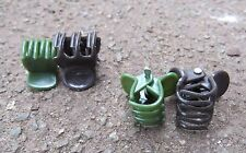Large Orchid plant and spike clips BAG 50pc