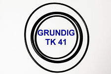 SET BELTS GRUNDIG TK 41 REEL TO REEL EXTRA STRONG NEW FACTORY FRESH TK41