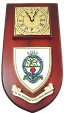 1ST BTN ROYAL REGIMENT OF WALES HAND MADE REGIMENTAL LICENSED CORPS WALL CLOCK