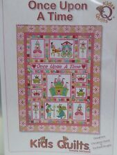 ONCE UPON A TIME QUILT PATTERN, Fusible Applique From Kids Quilts NEW