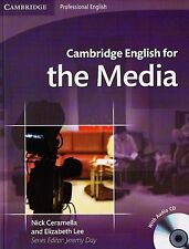 Cambridge Professional ENGLISH FOR THE MEDIA Student's Book with Audio CDs @NEW@